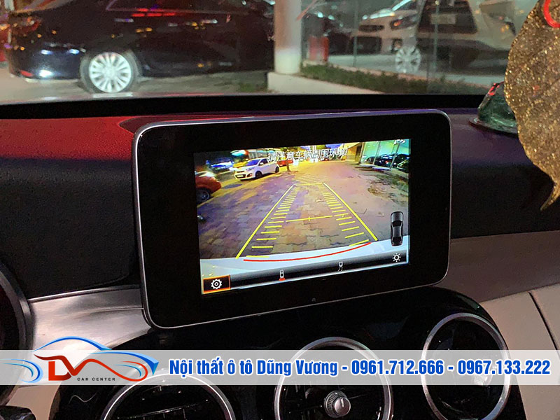 Camera 360 hỗ trợ bạn quan sát toàn cảnh không gian trong quá trình điều khiển xe