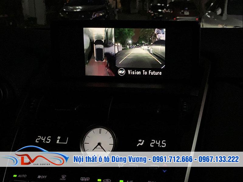 Camera cóp thiết kế nhỏ gọn và tinh tế cùng màn hình DVD lớn