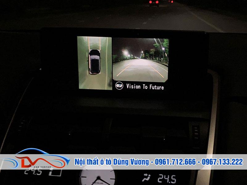 Camera hỗ trợ bạn quan sát toàn cảnh không gian