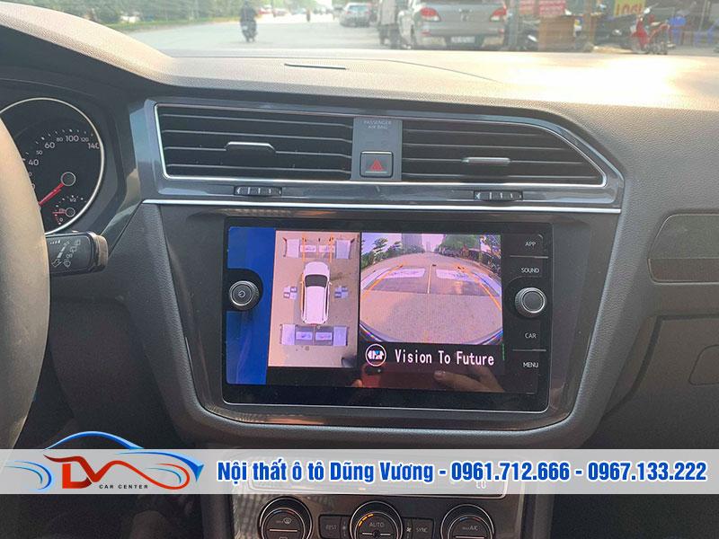 Camera hỗ trợ chạy xe an toàn trong mọi trường hợp