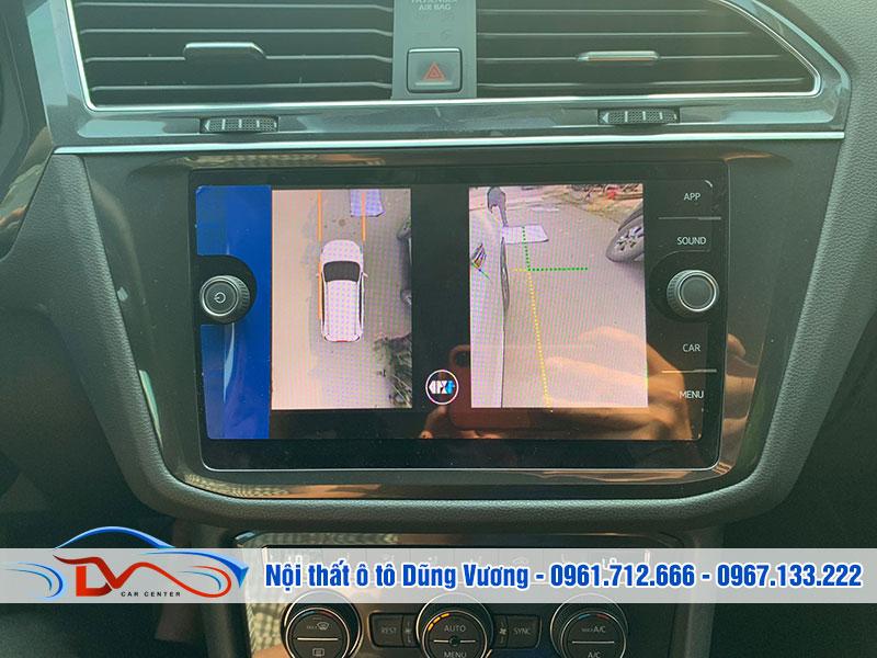 Một bộ camera 360 ô tô không thể thiếu đi màn hình DVD
