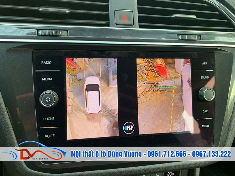 Camera 360 ô tô có thể sử dụng ngay cả trong trời mưa hay nắng gắt