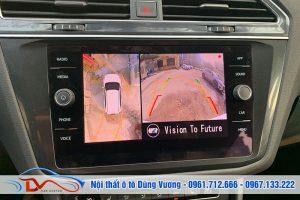 Camera 360 cho xe Volkswagen Tiguan Allspace 2019
