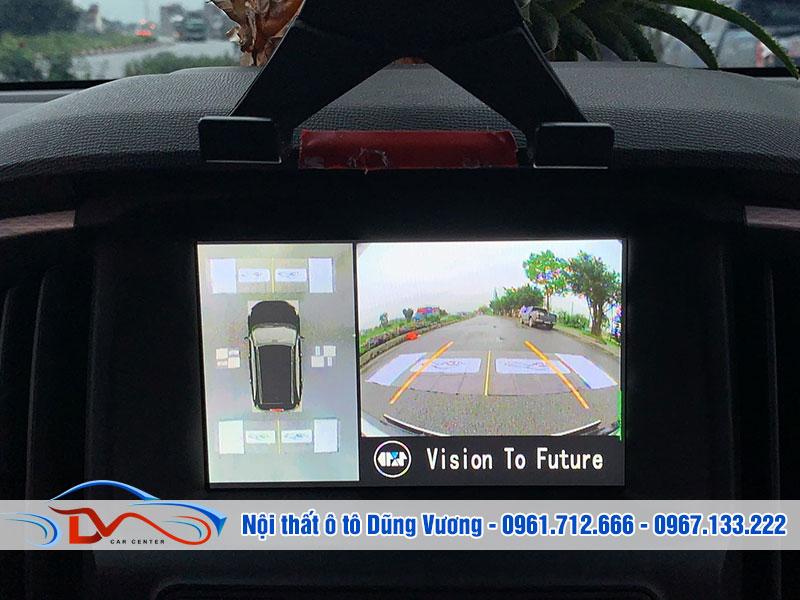 Camera 360 Oris giúp lái xe quan sát toàn cảnh không gian
