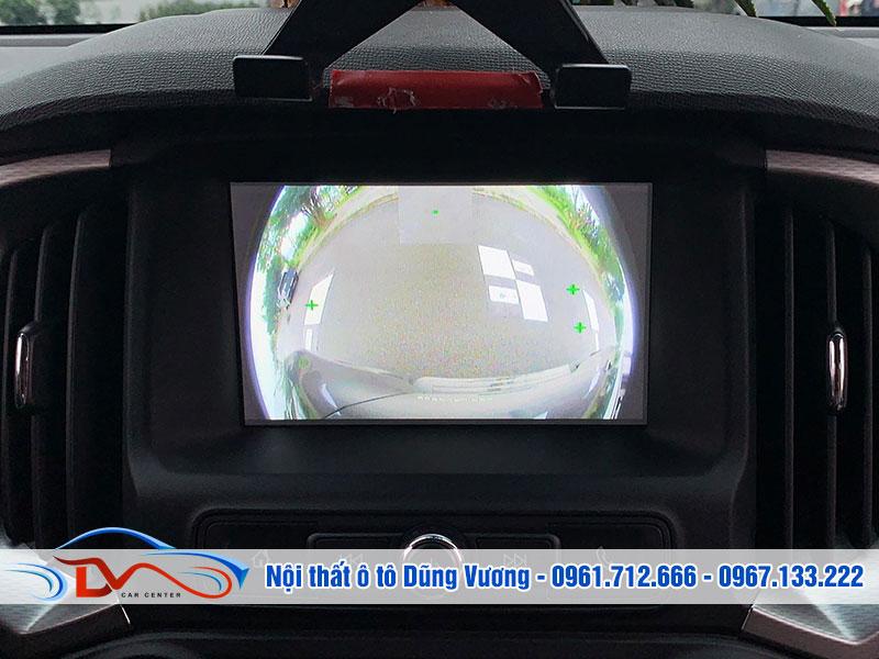 Camera 360 mang lại góc độ quan sát lớn
