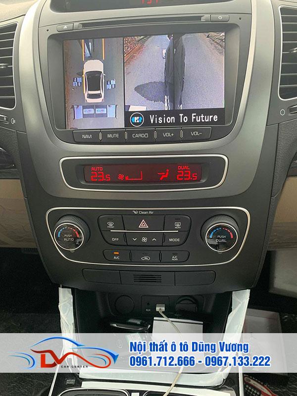 Camera 360 giúp điều khiển xe an toàn, tránh va chạm