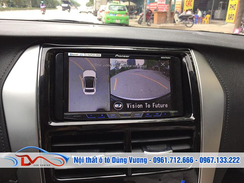 Sử dụng camera 360 ô tô mang lại nhiều tiện ích cho người dùng