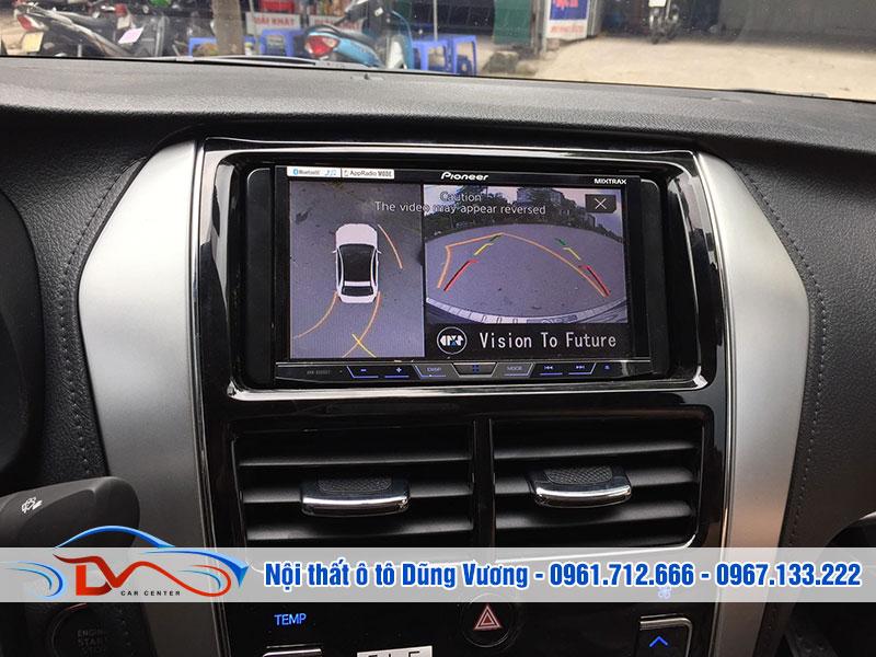Camera 360 giúp quan sát tổng quan và hạn chế điểm mù