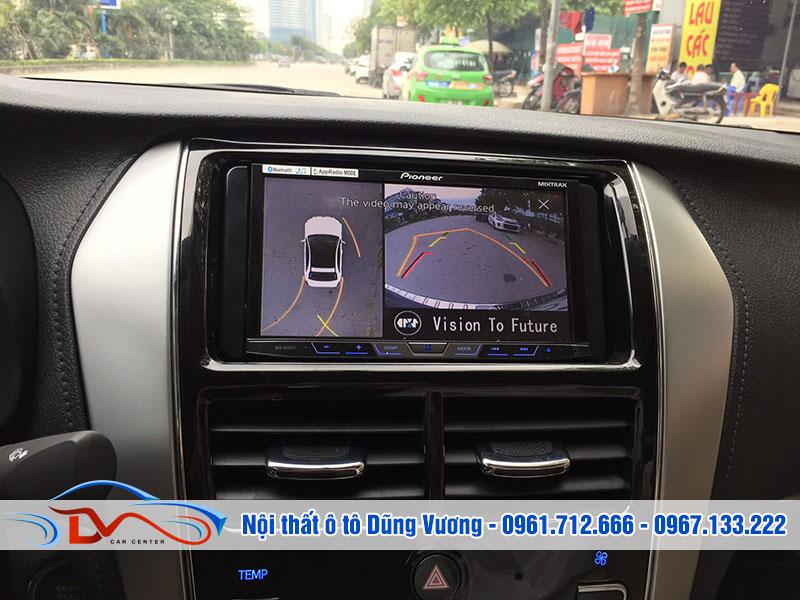 Lắp đặt camera 360 là cách giúp bạn lùi xe an toàn ngay cả trong diện tích hẹp