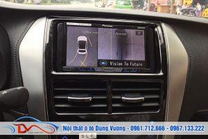 Camera 360 ô tô cho xe Vios 2019