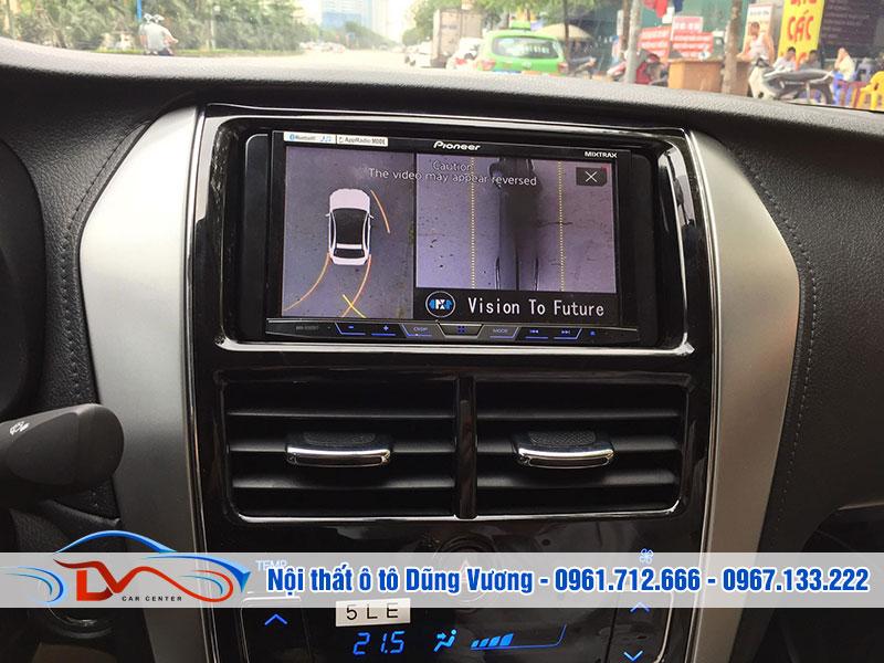 Camera 360 Oris cho xe Nissan