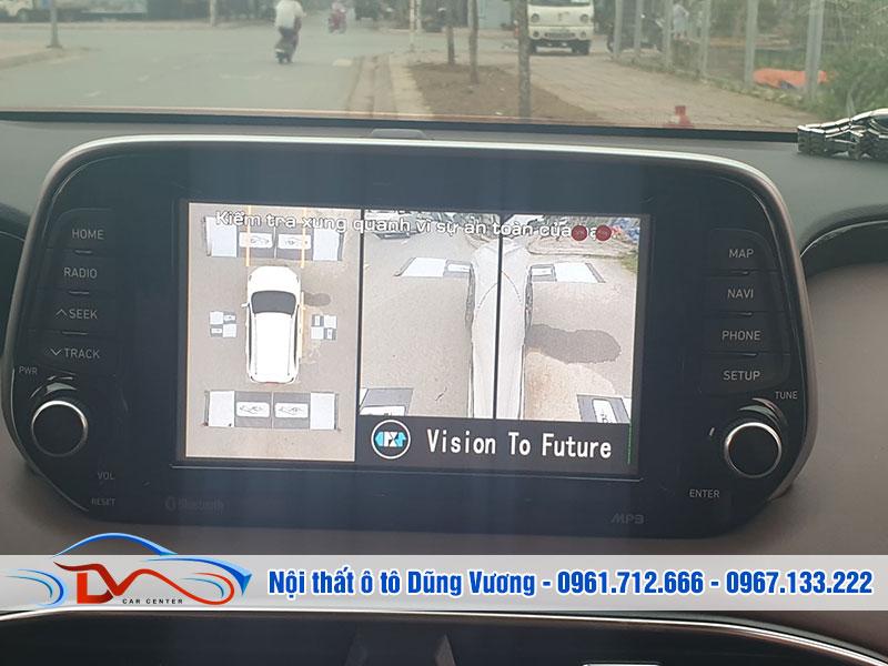 Nhờ có camera 360 độ cho ô tô mà bạn có thể điều khiển xe dễ dàng