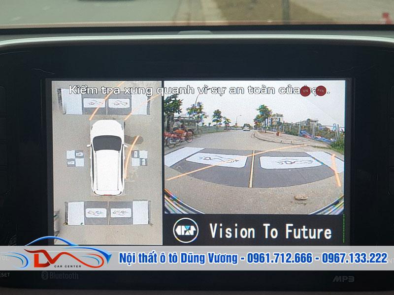 Bạn sẽ tránh được những va chạm không đáng có khi sử dụng camera 360 độ ô tô