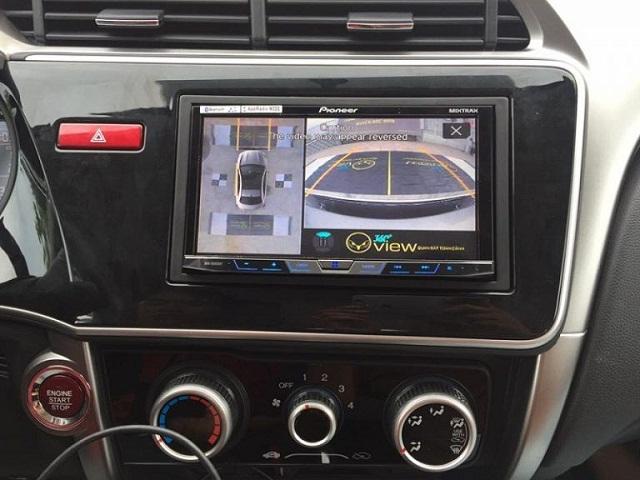 Camera 360 độ lắp đặt tại TechCar.vn