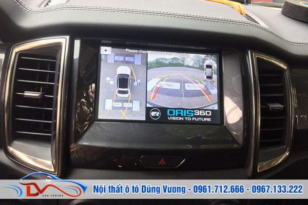 Camera 360 Ô tô cho xe Ford Everet 2019