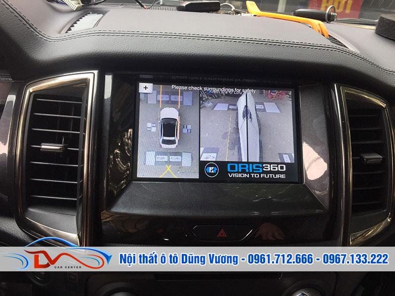Camera mang lại nhiều tiện ích khi lái xe