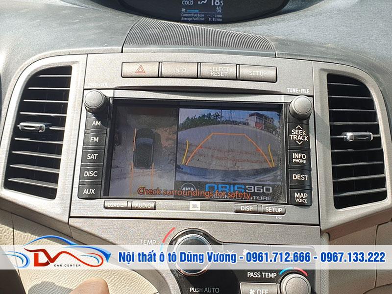 Camera hỗ trợ lùi xe an toàn