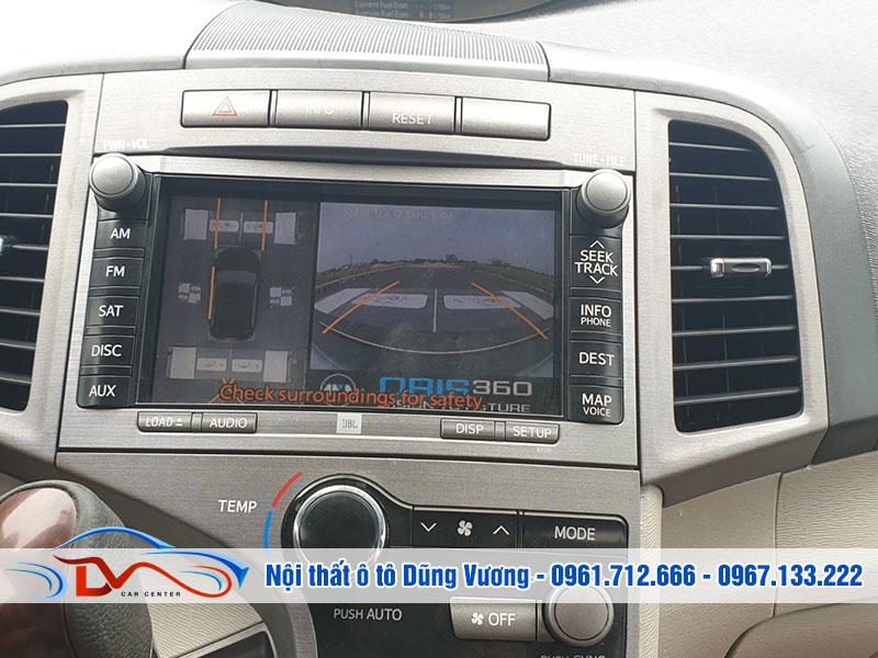 Camera hỗ trợ đậu xe an toàn, tránh điểm mù