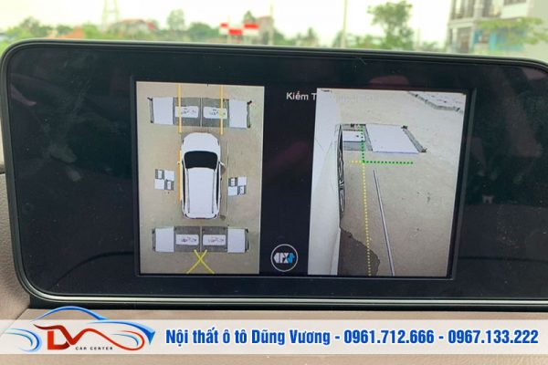 Camera 360 ô tô hỗ trợ hiệu quả cho người mới tập lái