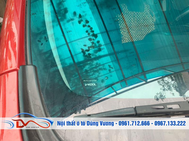 Dán phim cách nhiệt cao cấp Vkool xe Lx Rx300-Rx350 2019