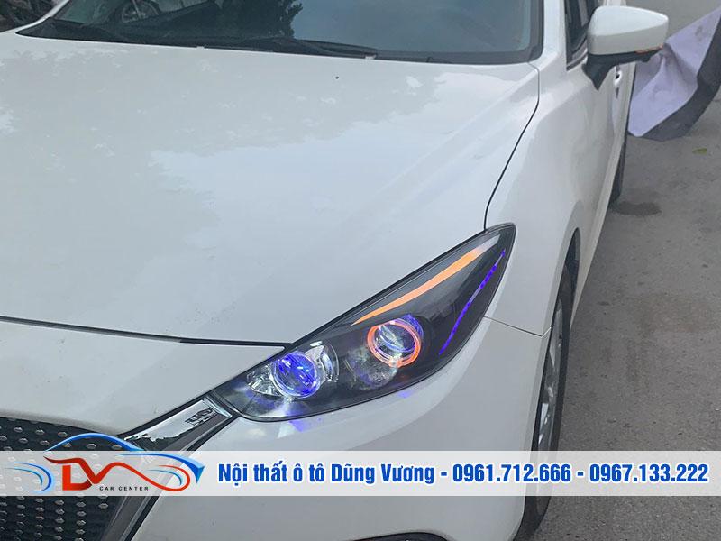 Độ đèn xe ô tô giúp tăng khả năng chiếu sáng