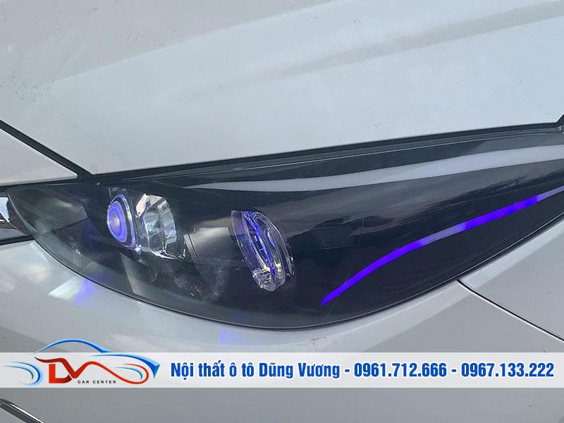 Độ đèn cho ô tô Mazda 3 là nhu cầu của nhiều khách hàng