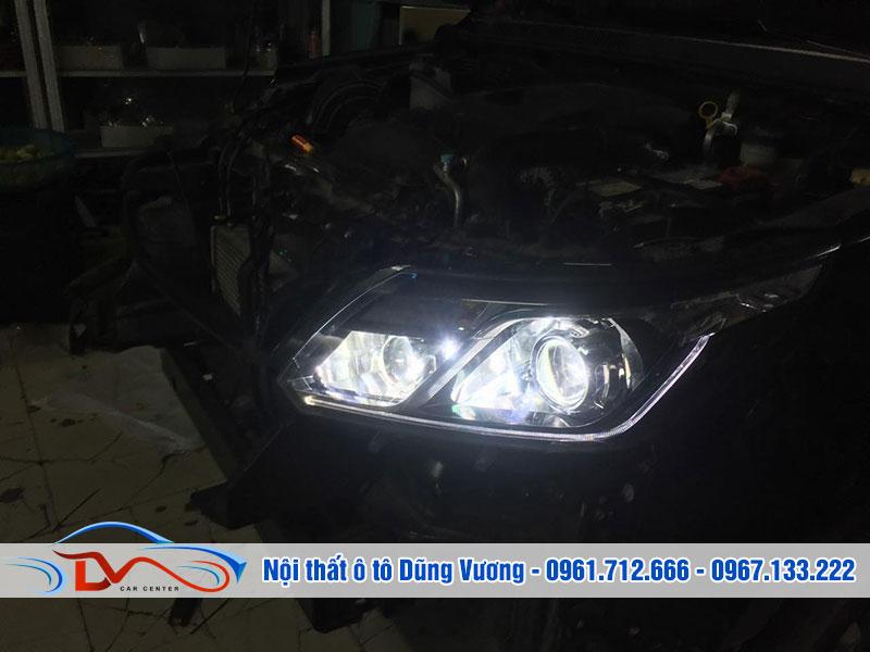 Độ đèn cho xe ô tô mang đến nhiều tiện ích hơn cho việc lái xe