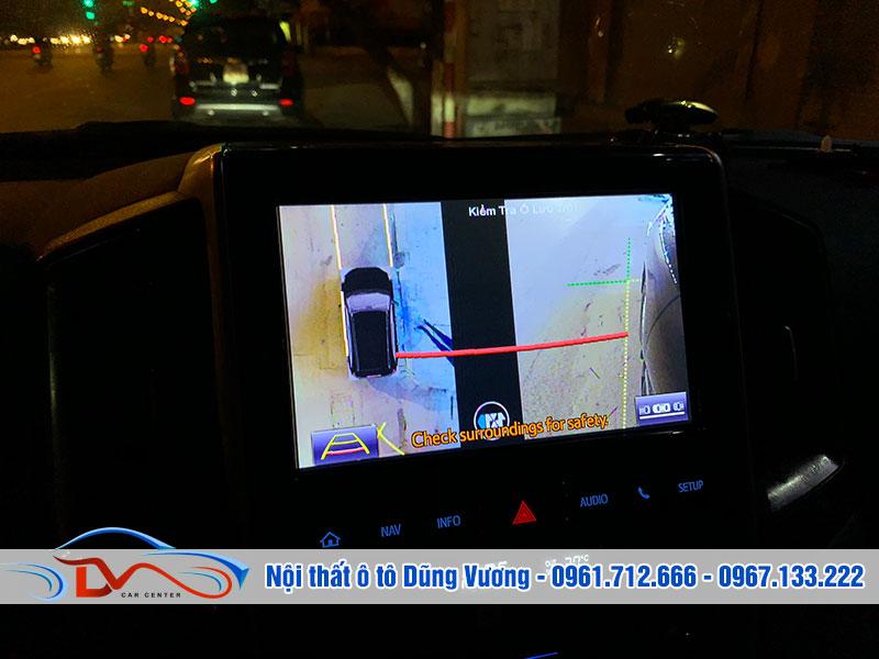 Camera 360 ô tô giúp bạn lái xe an toàn