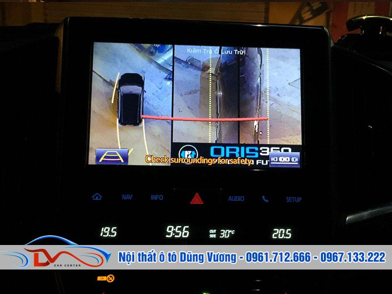 Camera giúp bạn tự tin lái xe trong không gian nhỏ hẹp