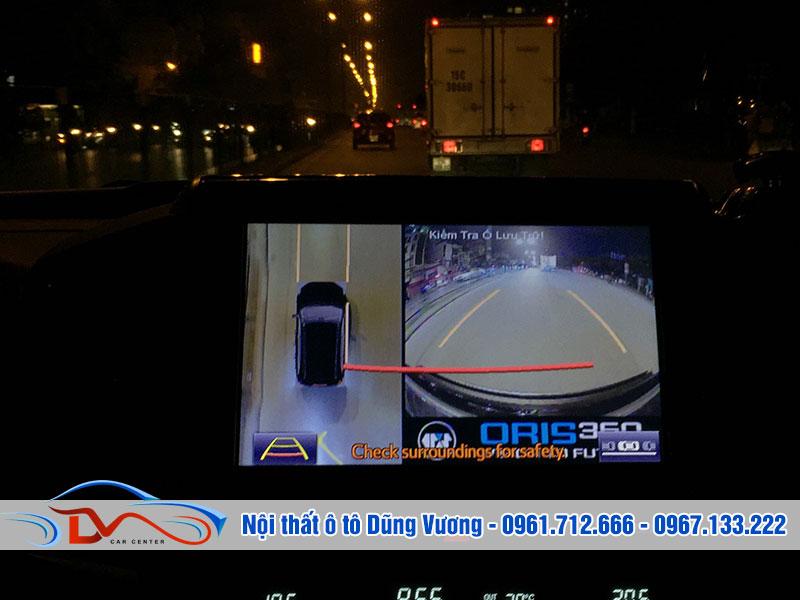 Camera hỗ trợ quan sát vào ban đêm dễ dàng