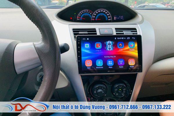 Màn hình Android cho ô tô Vios loại tốt nhất trên thị trường