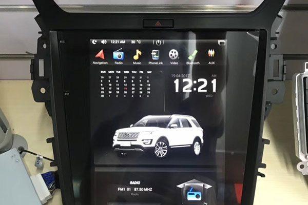 Màn hình Android Tesla ford Xforder 2018