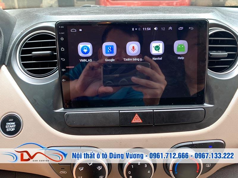 Màn hình Android xe Hyundai Grand i10