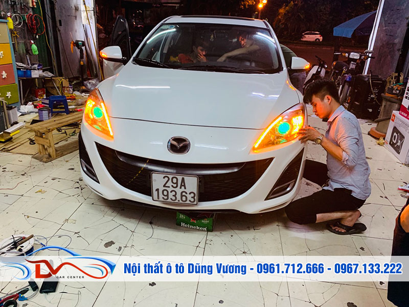 Đèn xe nâng cấp giúp chủ xe tiết kiệm nhiều chi phí