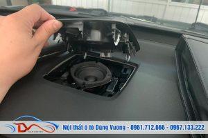 Nâng cấp Loa trung tâm - Loa tép xe - Dsp cao cấp Honda Crv