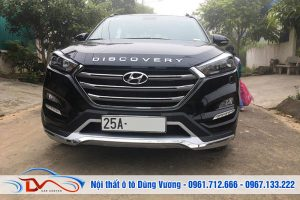 Ốp cản trước sau Hyundai Tucson 2014-2019