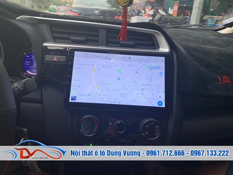 Màn hình Android tích hợp bản đồ thông minh