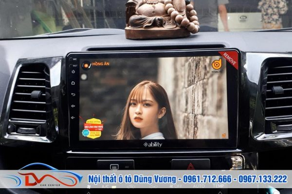 Màn hình Android Ability cho xe Fortuner 2016