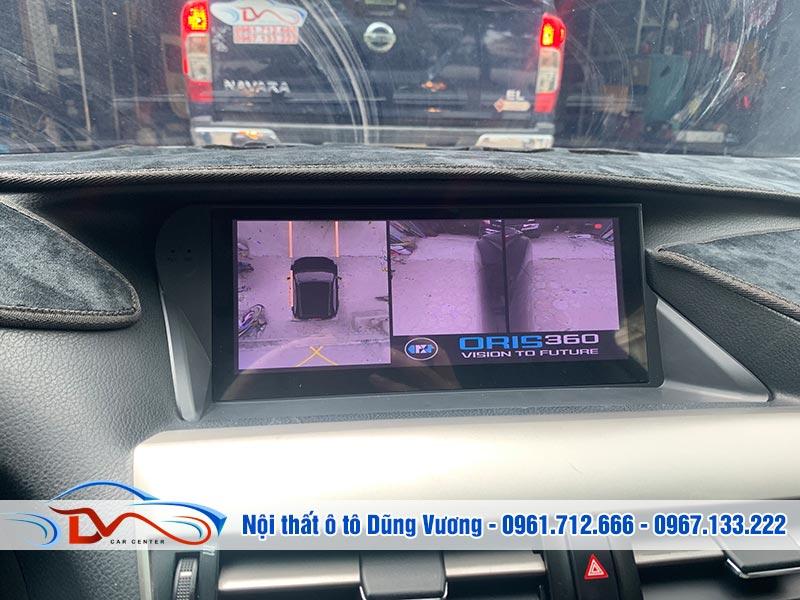 Camera 360 Ô tô cho xe Lexus Rx450H giúp đảm bảo an toàn khi lái xe