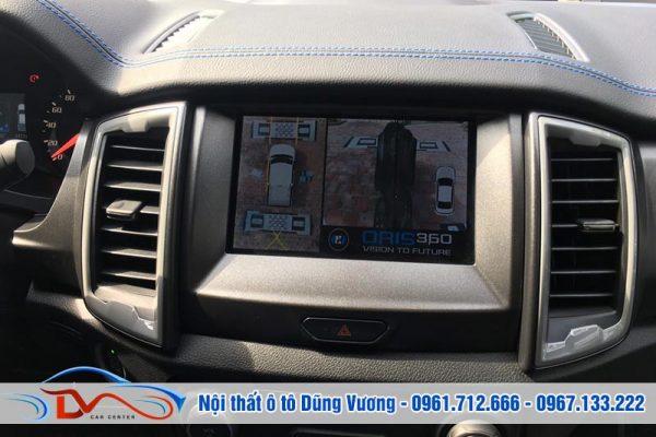 Camera 360 Oris cao cấp cho xe Ford Raptor 2019
