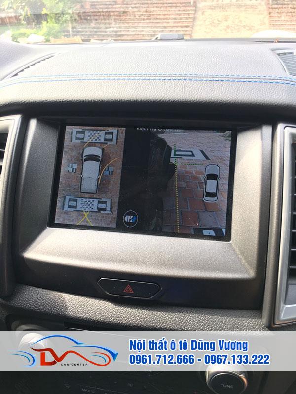 Camera có kết nối với màn hình DVD trong xe