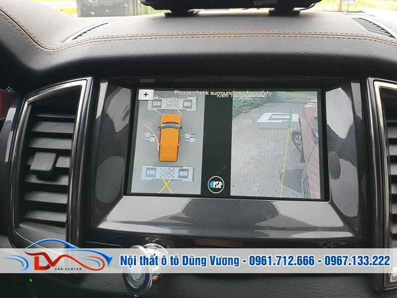 Camera đảm bảo hiển thị vạch chuyển hướng chính xác