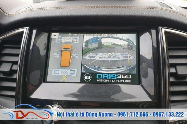 Camera 360 độ Oris cho xe Ford ranger 2019