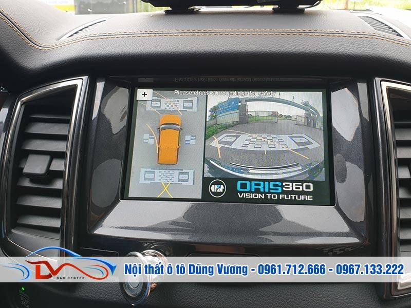 Camera hỗ trợ hiển thị toàn cảnh trên ô tô