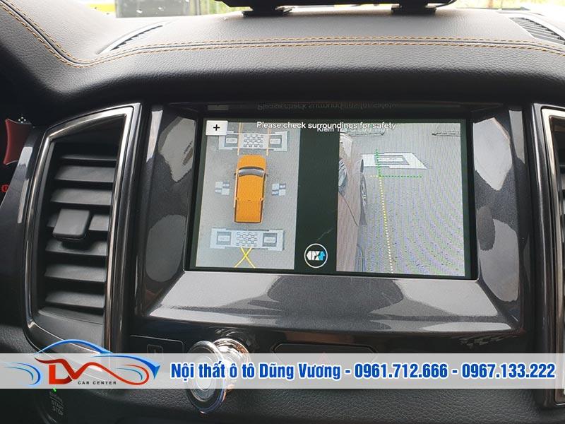 Hệ thống camera truyền tải hình ảnh cho màn hình DVD trong xe