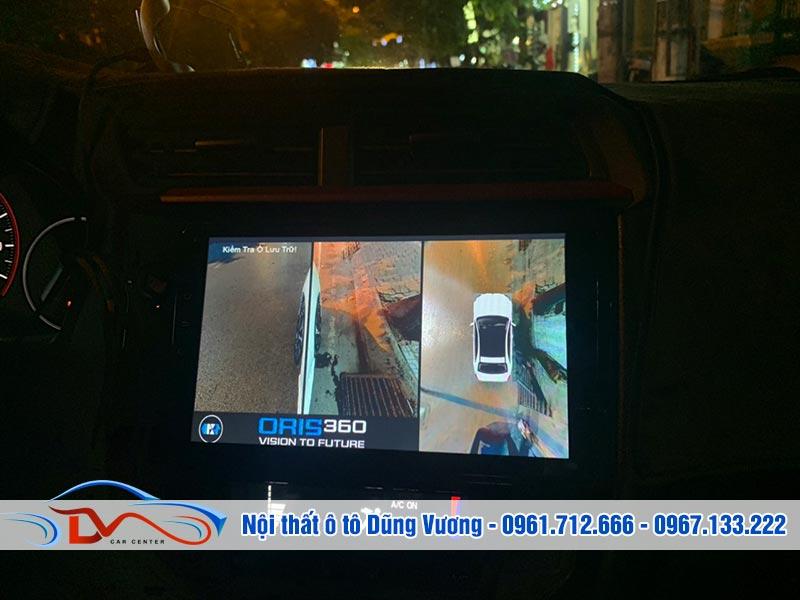 Camera 360 ô tô có thể đảm nhiệm vai trò của camera hành trinh