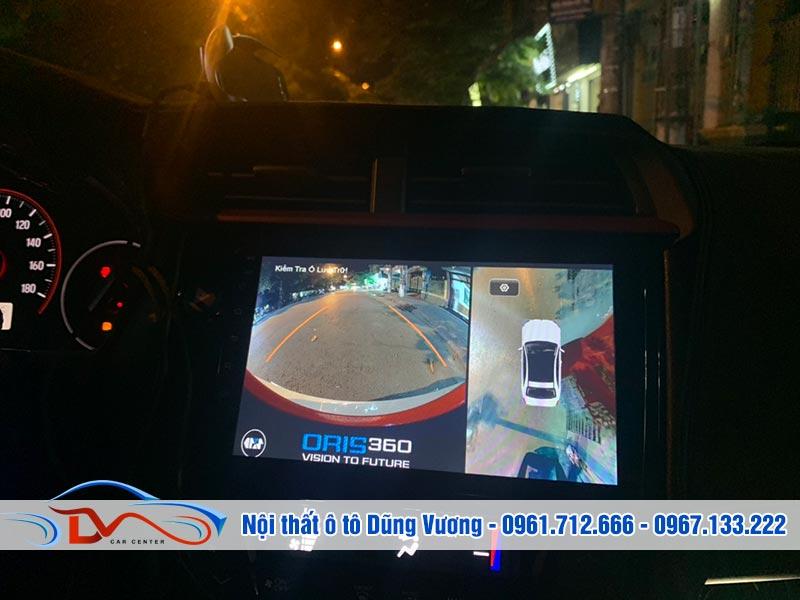 Camera giúp cung cấp hình ảnh, đảm bảo hạn chế va chạm khi di chuyển
