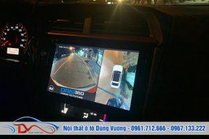 Camera 360 Ô tô lắp trên xe Honda Brio