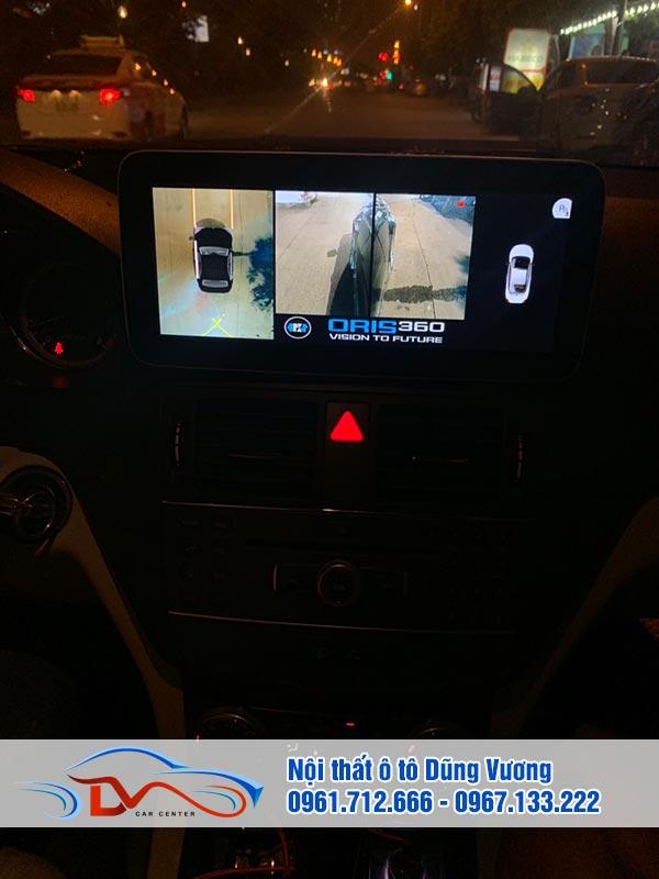 Camera 360 ô tô giúp đảm bảo an toàn khi tham gia giao thông
