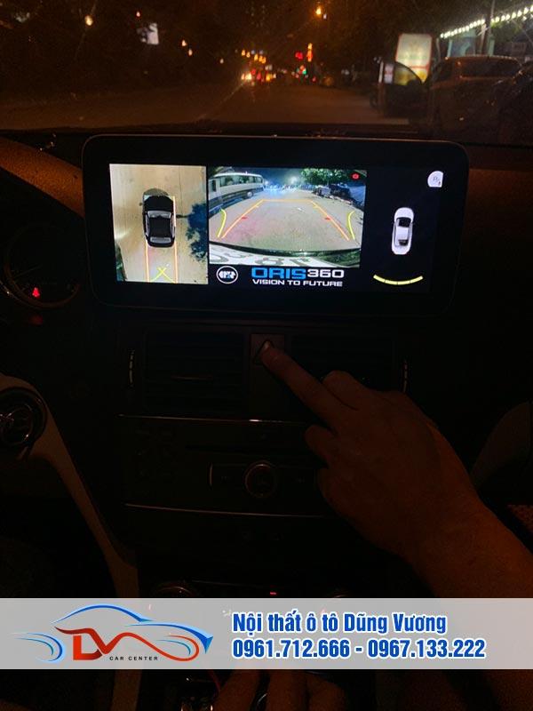 Camera 360 Ô tô lắp trên xe Mercedes C250 2011